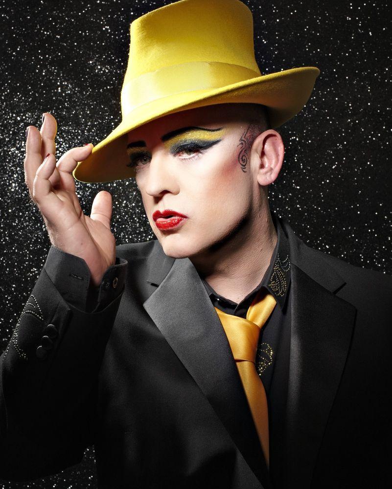 boy george culture club 10 x 8 photograph no 5 | makeup | pinterest