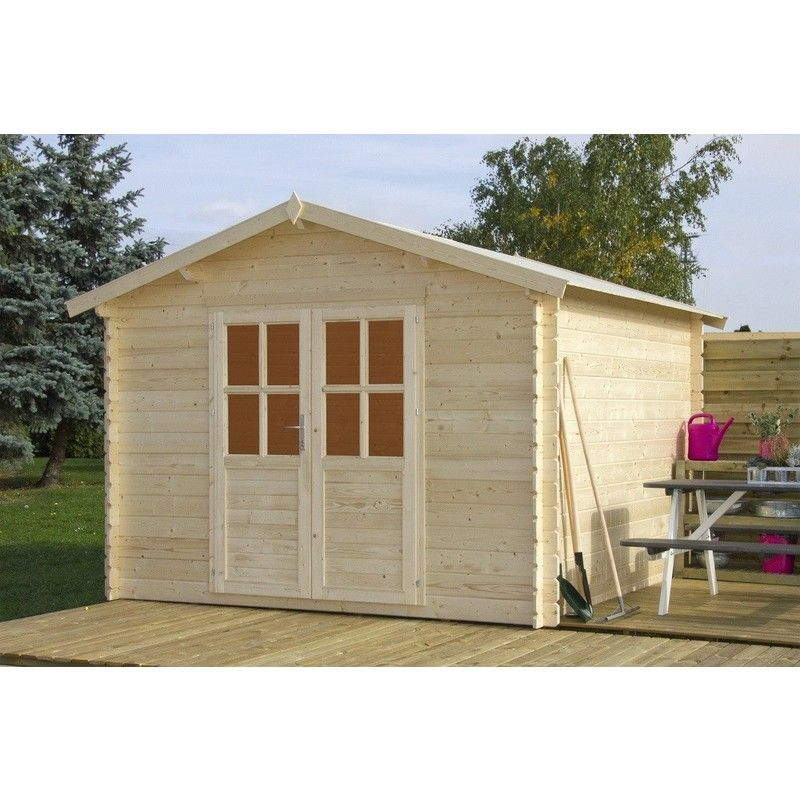 Photo of Casetta top a legno nordico gartenpro 318x318x199/251h – Gartenpro – 206720