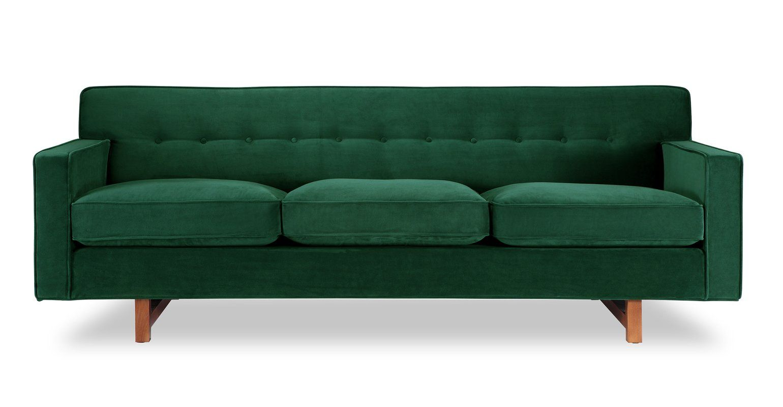 Kennedy Mid Century Modern Classic Sofa Mit Bildern
