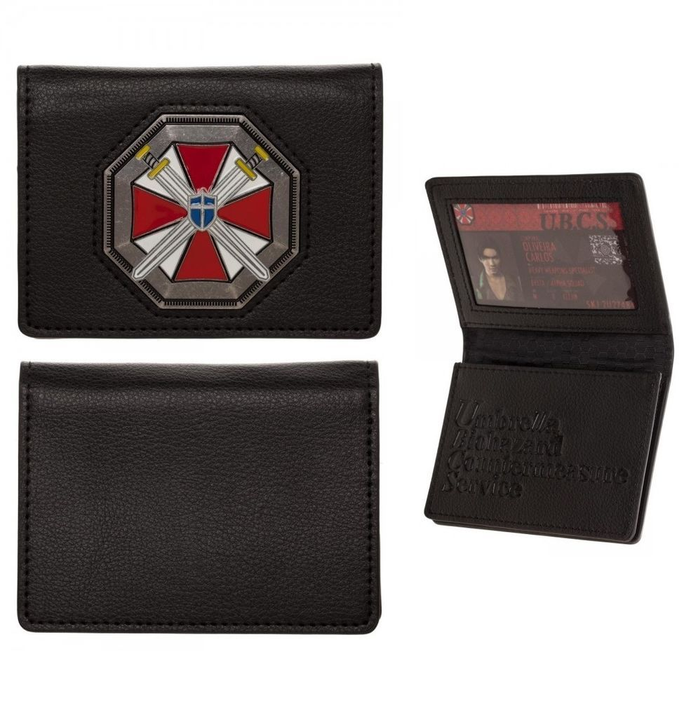 Details About Resident Evil Id Card Wallet 20th Anniversary