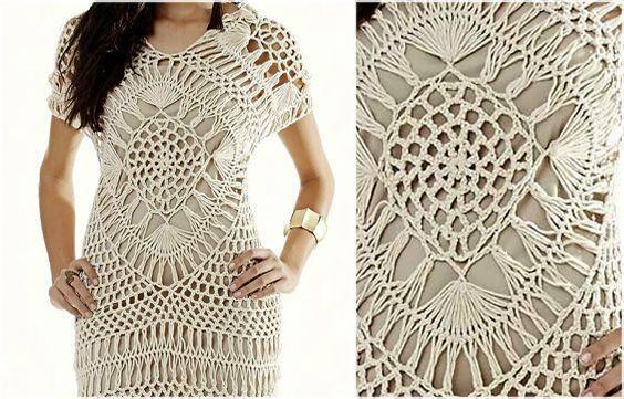 0e2cffc0da74f Crochet Dress Pattern Free: Feel beautiful in summer fashion  #crochetdressesbeautiful