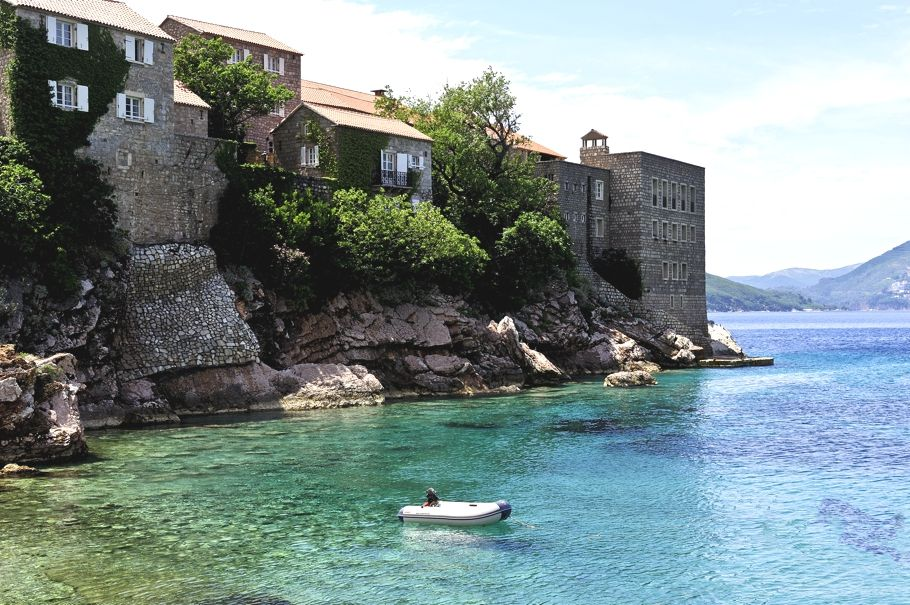 Luxury Aman Sveti Stefan Resort, Montenegro - http://www.adelto.co.uk/luxury-aman-sveti-stefan-resort-montenegro