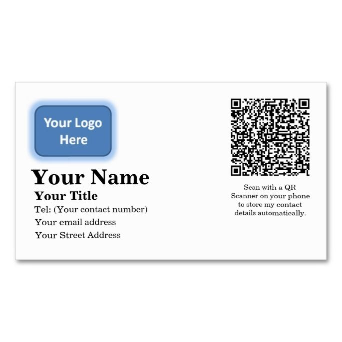 Automatic Contact Details Business Card All you need is - contact details template