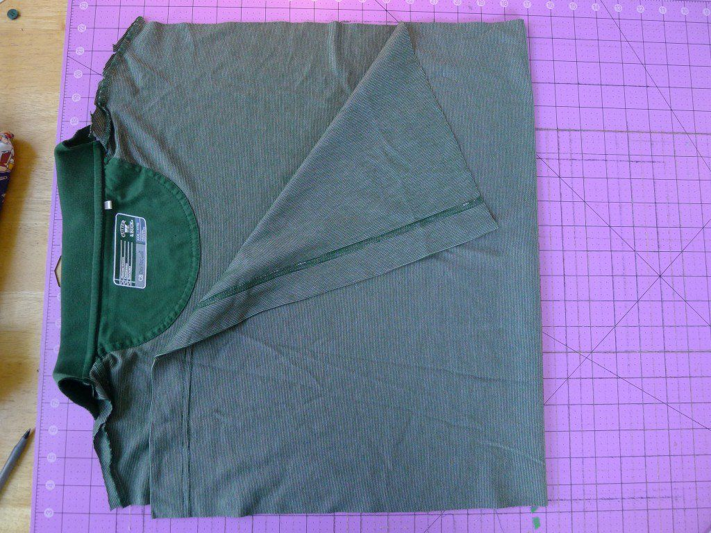 Polo Shirt Memory Pillows Fairfield World Craft Projects