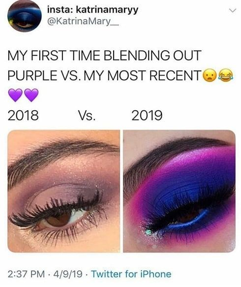 Hahha so beautiful tho. Who else have done this? Follow @makeuplead Follow @makeuplead Follow @makeuplead . .CREDIT .@katrinamaryy . . . #aaryabeauty #beautyobsessed #makeupchallenge#makeup #makeuptime #makeupstorage#makeuponpoint #makeupobsessed #makeuptalk#makeuptransformation #makeuphaul #makeup#artist #mua #makeupswatches #eyeshadowpalette#eyemakeup #eyeshadow #eyelook#eyeshadowlooks #makeuplover