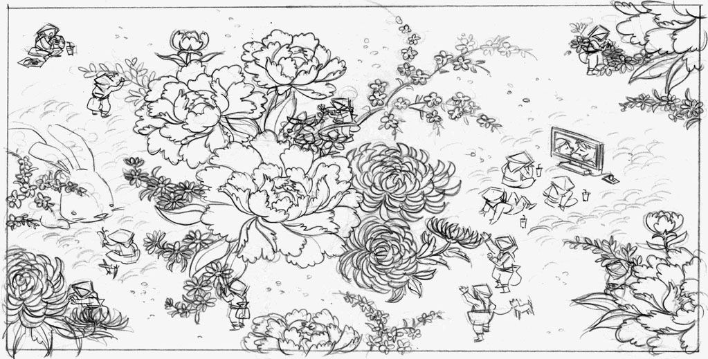 Peony Illustrations tattoo   Some tight pencils in progress of my love for peony flowers, hard ...