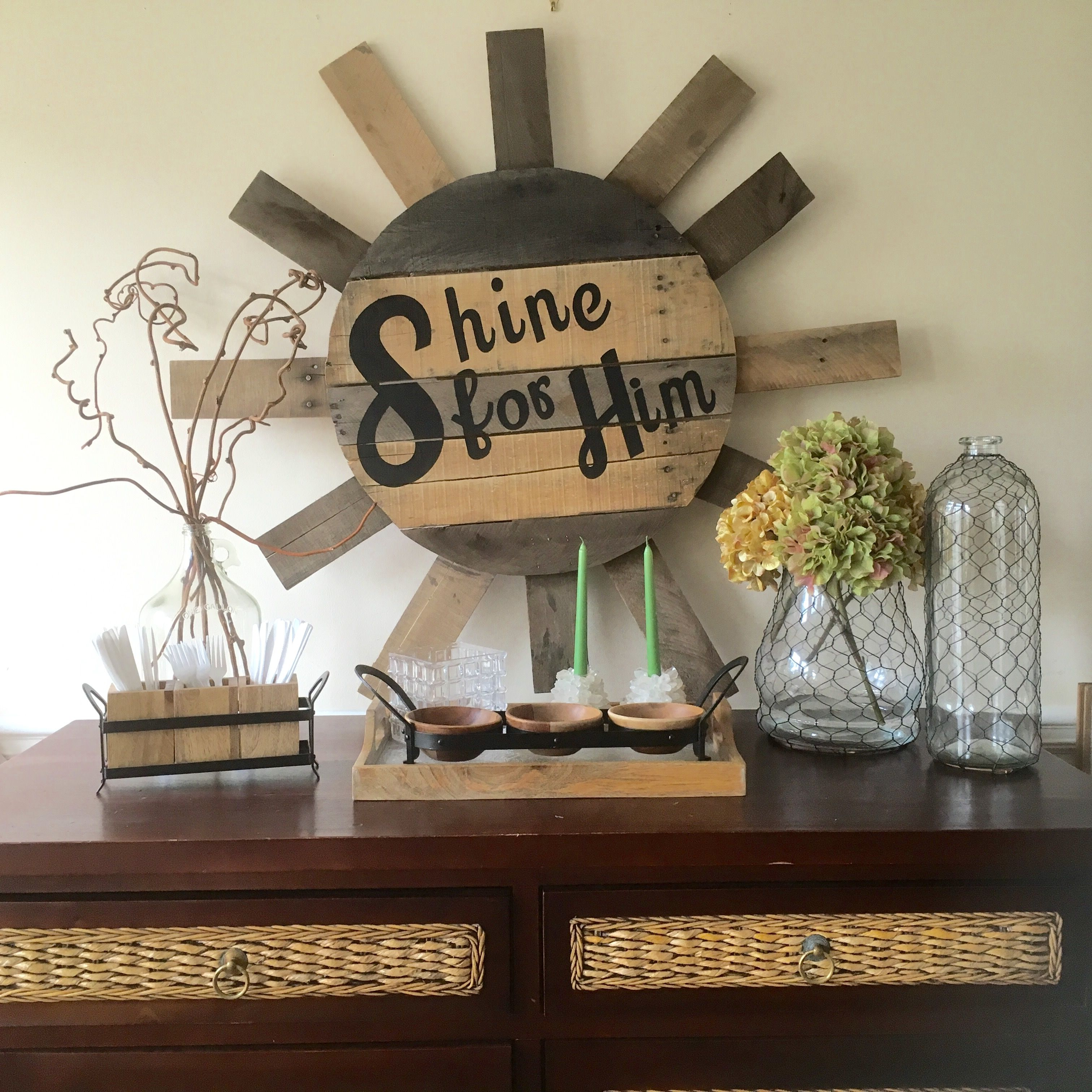 diy pallet wood sign sun shine for him sun made from pallets