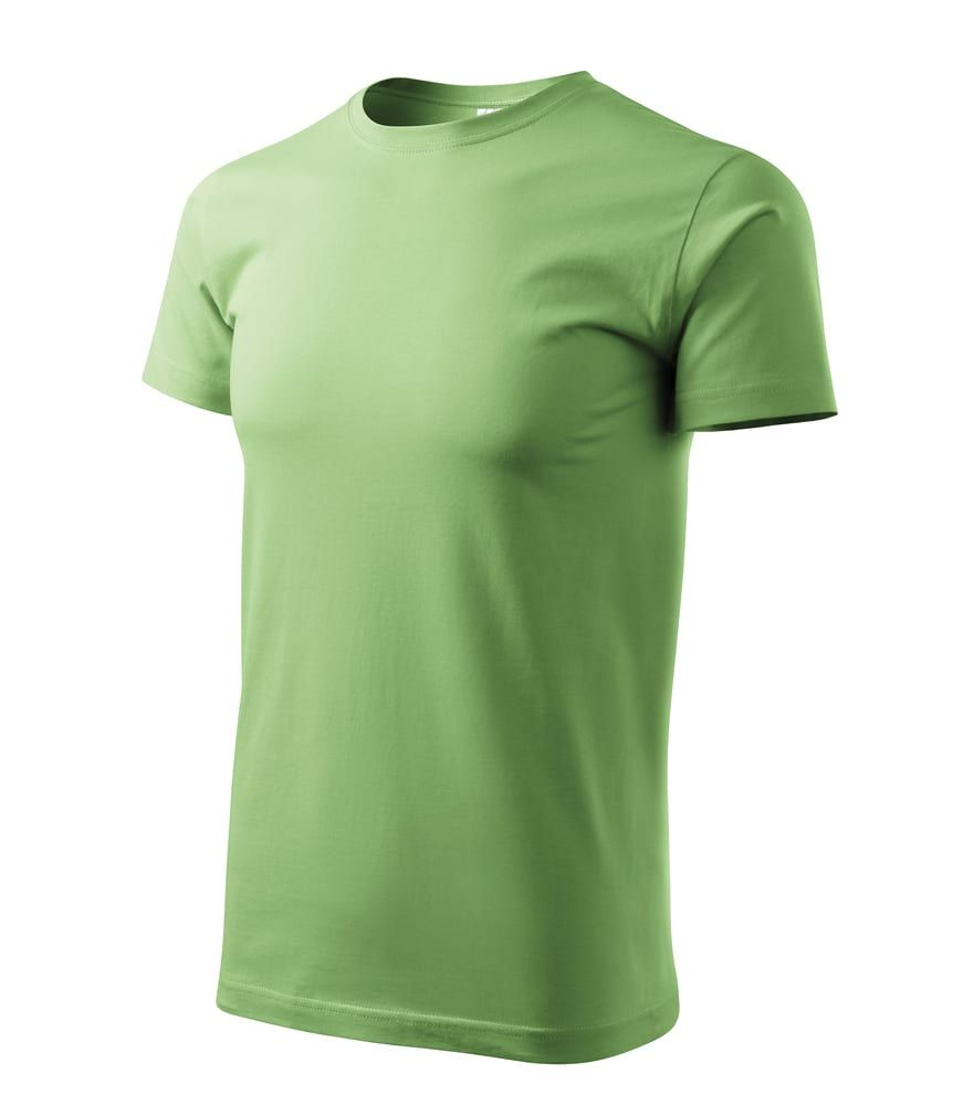 Basic T-shirt Herren Grasgrun - Malfini 19X - Größe: S