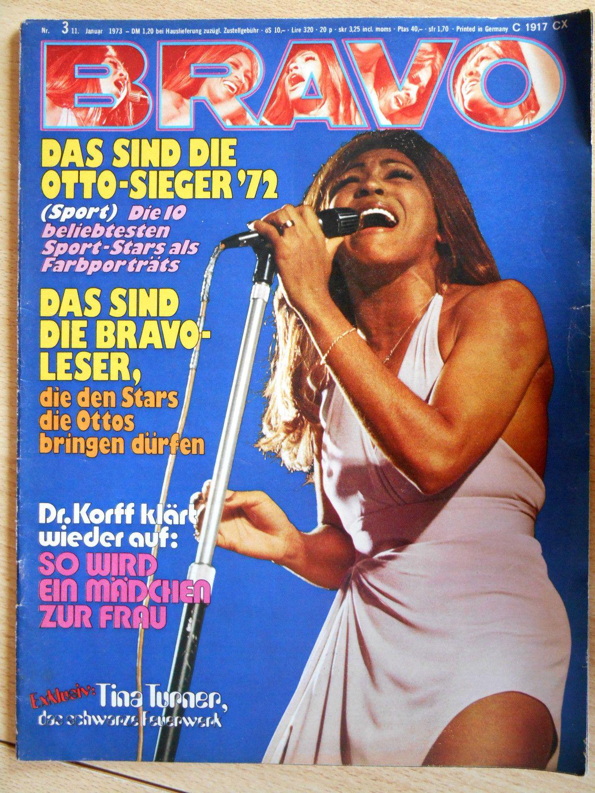Bravo 3/1973 Tina Turner, Osmonds, Deep Purple  -  TOP in Boeken, strips, tijdschriften, Tijdschriften, Kinderen en jongvolwassenen   eBay
