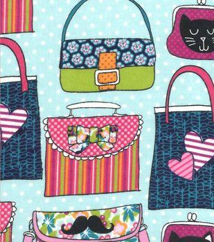 Snuggle Flannel Fabric Cute Bags