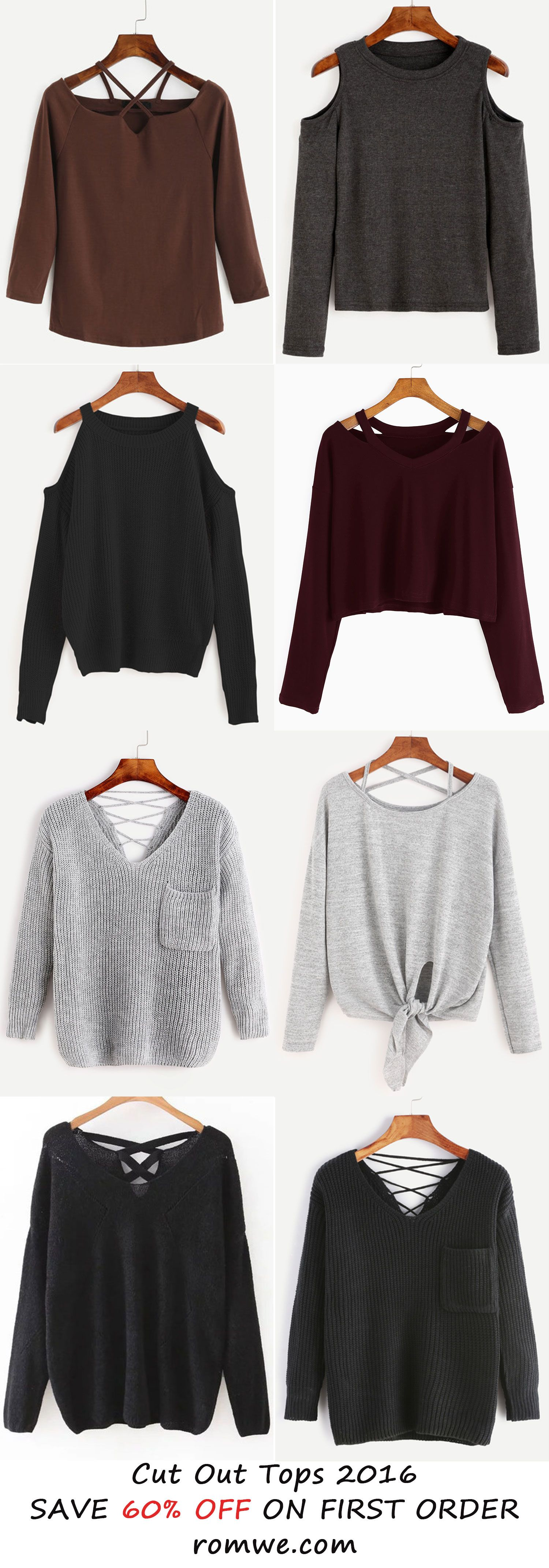 Sexy fall tops