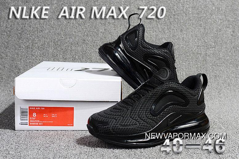 huge discount fd59a 23c3f Nike Air Max 720 All Black New Year Deals