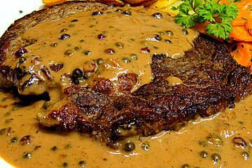 Photo of Hip steak in a fine cognac cream sauce from Mausemausi | chef