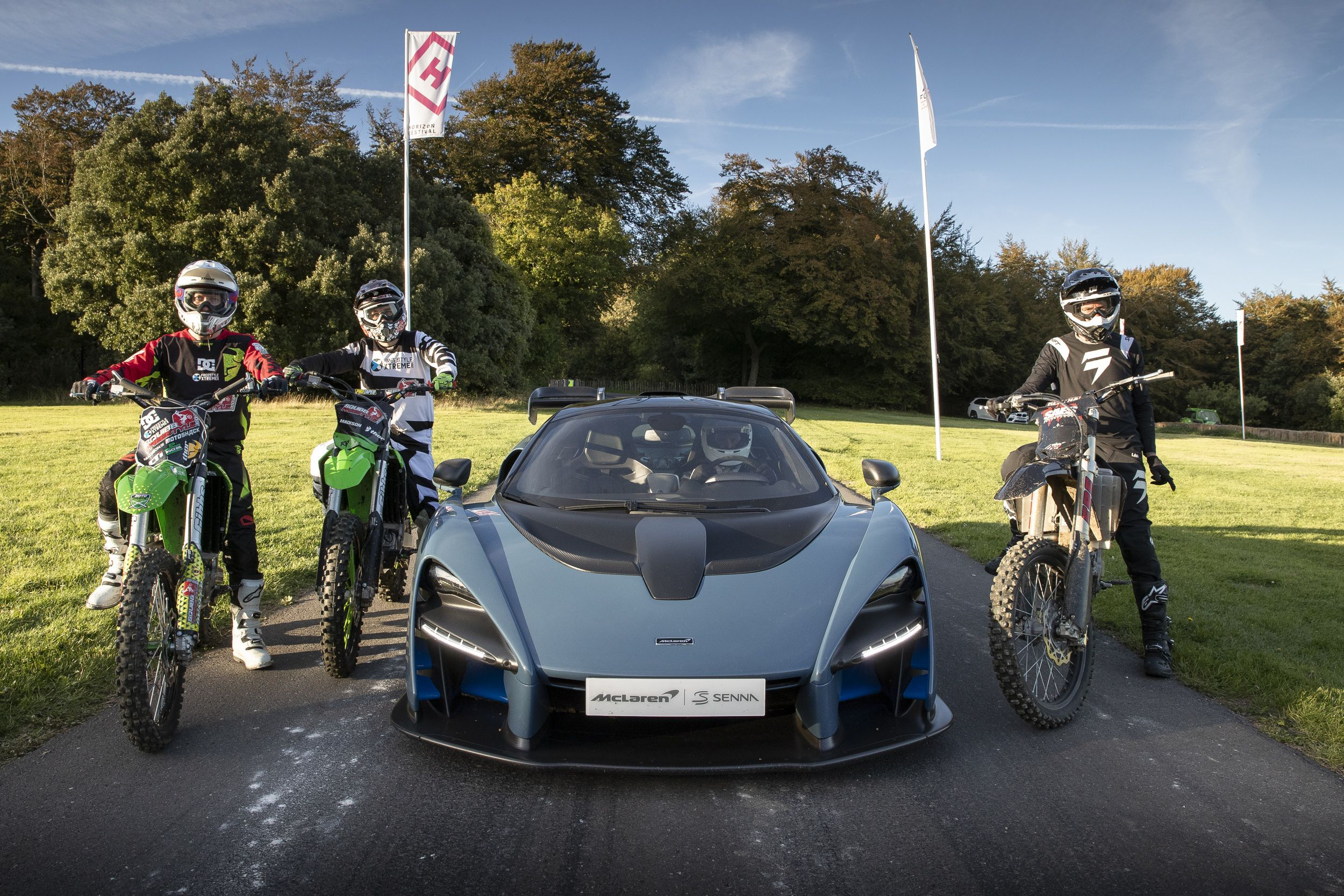 Mclaren Celebrates Launch Of Forza Horizon 4 With Senna Vs