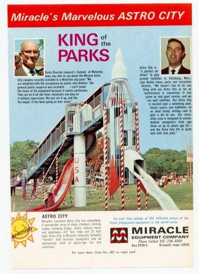 Rocket Slide Waterloo Iowa 1974 03 Miracle Legacy