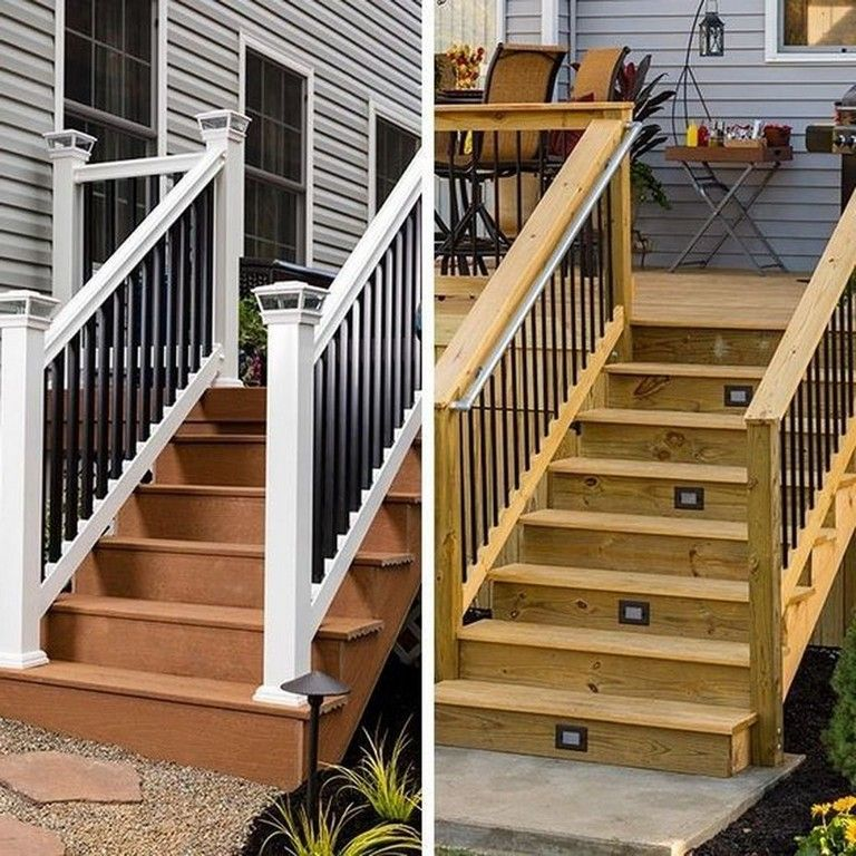 45 Unique Wood Railing Ideas For Your House Style Styles