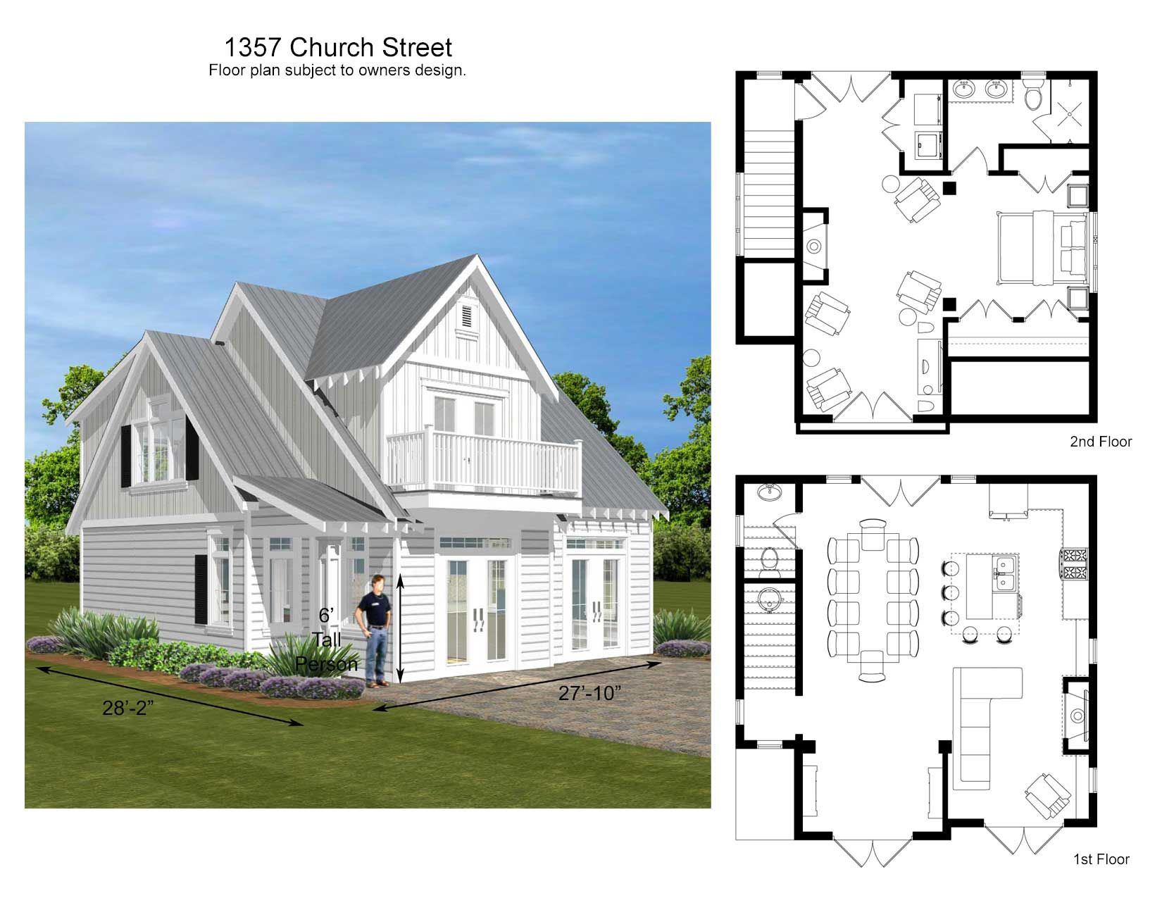 Build it as a garage apartment or two story accessory dwelling