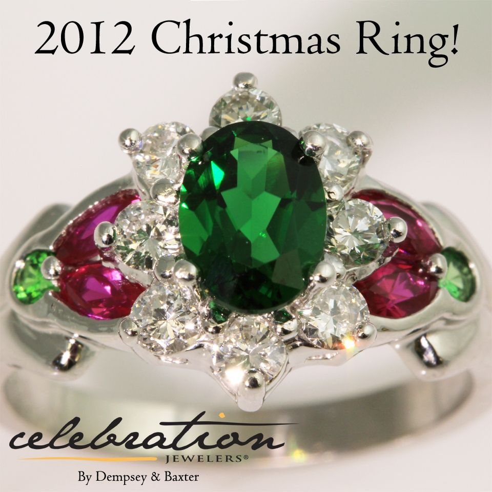 Did you miss out on the chance to own this one-of-a-kind #tsavorite garnet, ruby and diamond #ring designed by Celebration Jewelers? Don't worry - we'll have another next year! If you can't wait that long, stop in to see how we can turn your own idea into a piece of jewelry that will passed down for generations! #dempseyandbaxter