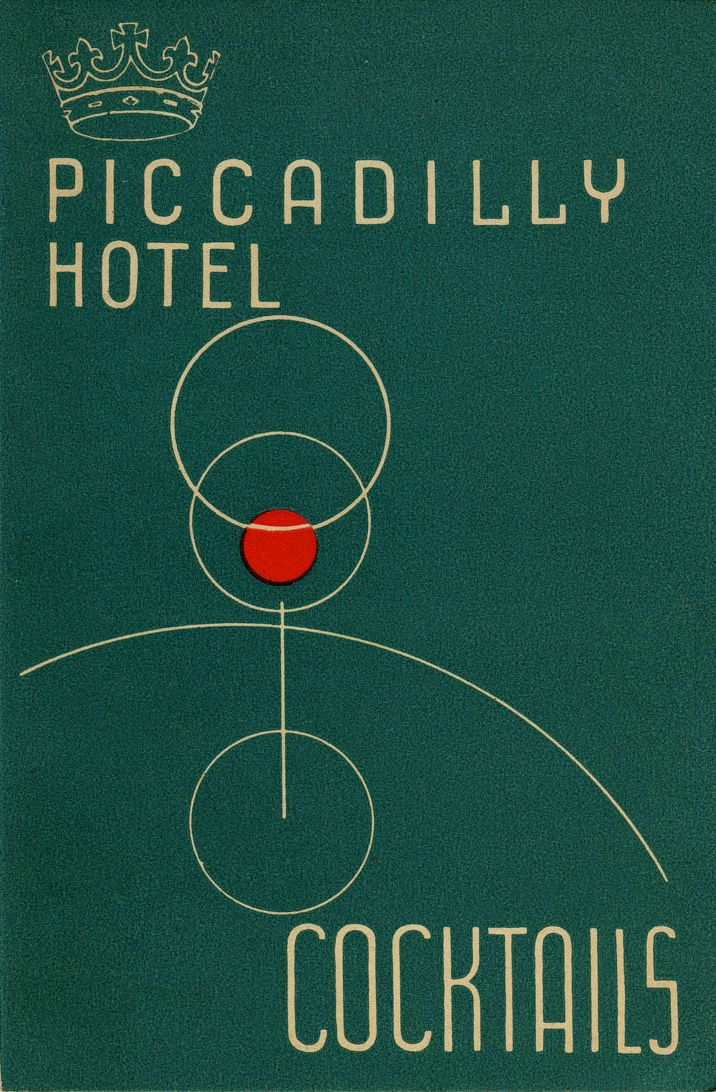 Check Out Some Awesome Vintage Cocktail Menus #menus