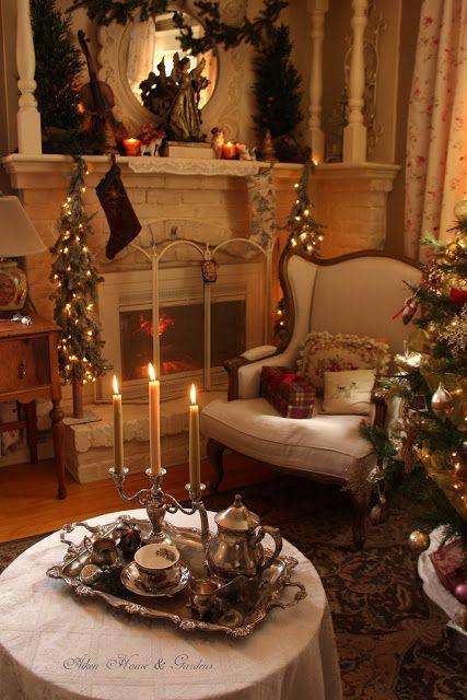 Aiken House & Gardens: English Country Christmas | Home Interior ...