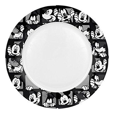 disney mickey grid dinner plate set of 4 by rsquared mickey mouse