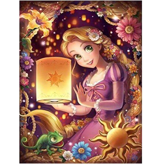 5D Diamond Painting Mosaic Art Needlework Cartoon Girl Picture Of Rhinestone Cross Stitch Kit Square Round Resin Drill Diamond Embroidery