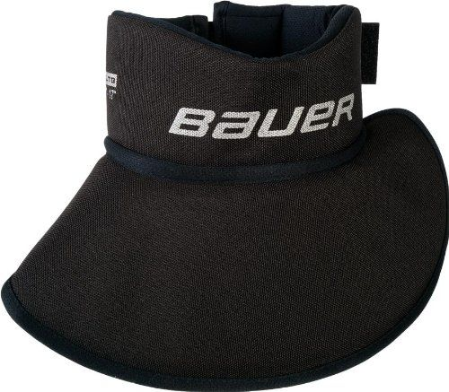 Sr Hockey Neck Guard Protect Against Slashing Black Neck Guard