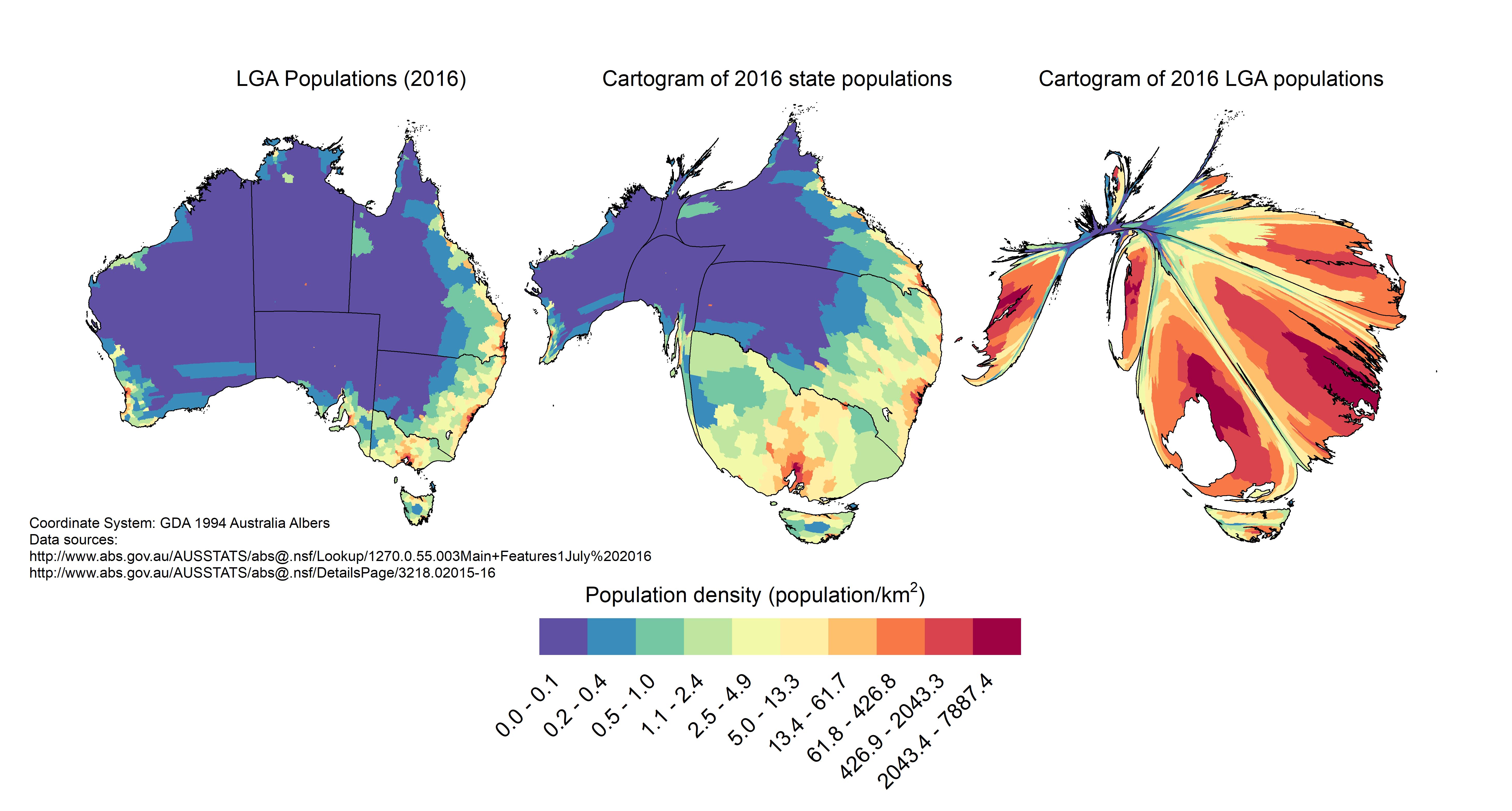 Australian potion cartogram | Australia | Australia map, Map ... on choropleth map of the world, cartogram of population density of pennsylvania, map map of the world, cartogram map europe, chart map of the world, scale map of the world, cartogram map of the caribbean, geography map of the world, cartogram map mexico, global map of the world, gis map of the world,