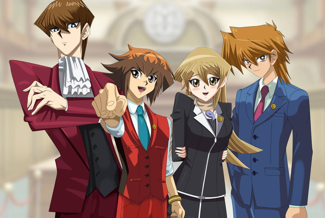 Yu Gi Oh Ace Attorney Jaden Yuki Alexis Rhodes Joey Wheeler And Seto Kaiba Yugioh Alexis Rhodes Ace Want to discover art related to alexis_rhodes? yu gi oh ace attorney jaden yuki
