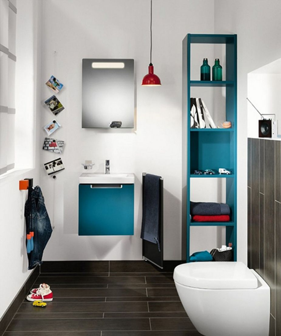 Best 11 Cheerful Kids Bathroom Design Inspirations : Adorable White ...