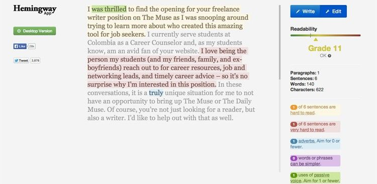 A Quick Way To Tell How Your Cover Letter Sounds To Others Cover