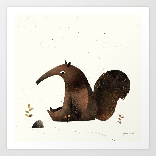 #buyart #society6 #anteater #homedecor #hamtzcurator #digitalart for #room #decoration