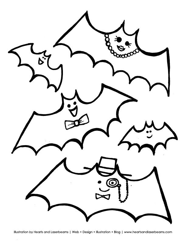 Free Halloween Printable from Hearts & Laserbeams ...