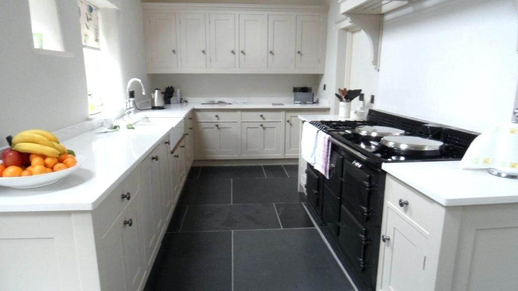 Kitchen Floor Tiles With White Cabinets Kitchen Flooring White Tile Kitchen Floor Slate Kitchen