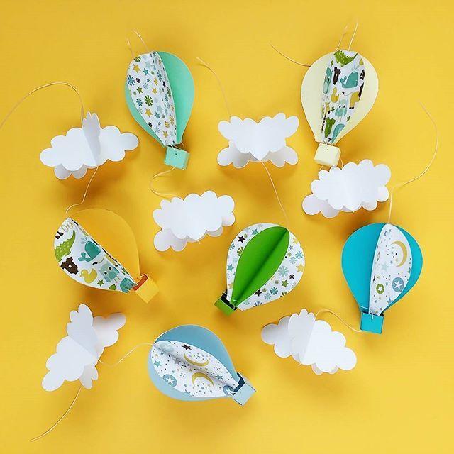 Globos de papel para movil de bebe decoracion infantil for Papel de decoracion