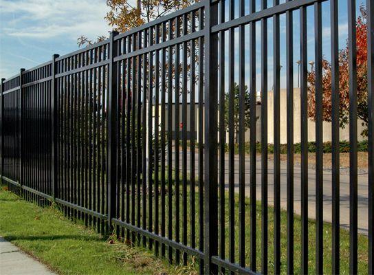 Aluminum Fence Mansfield Modern Design