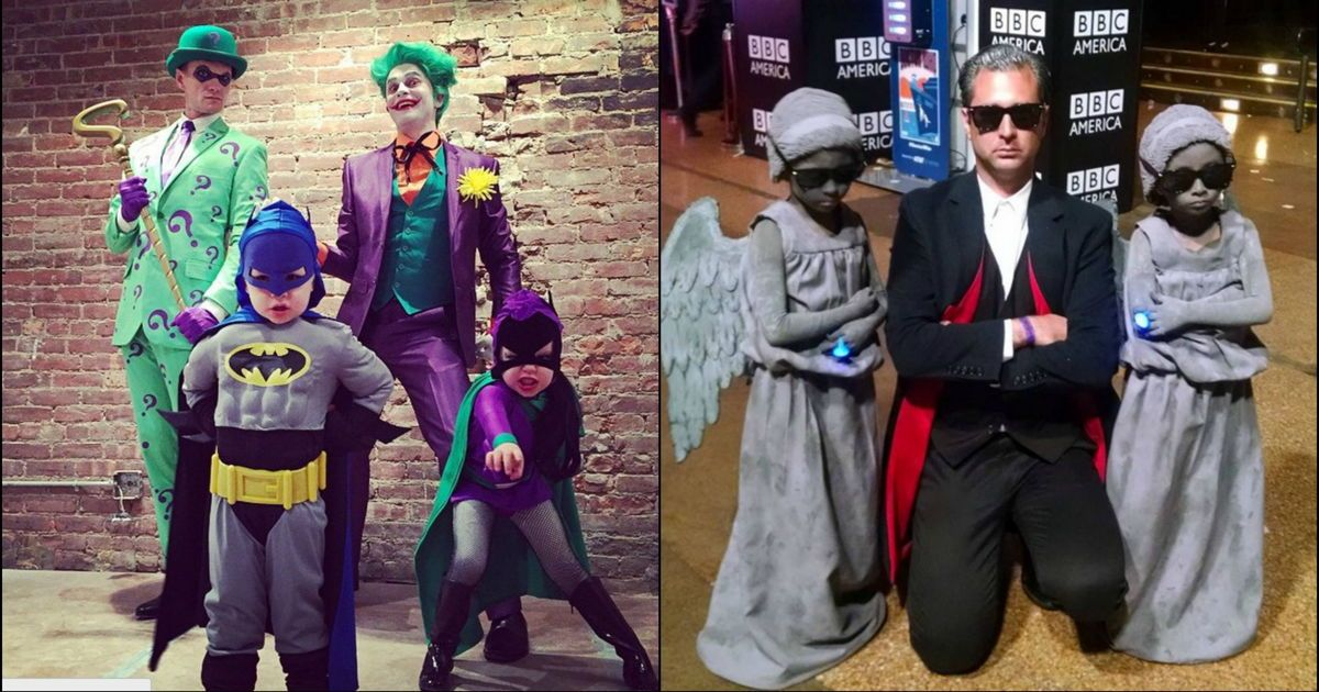 12 Family Halloween Costumes That Will Make Neil Patrick