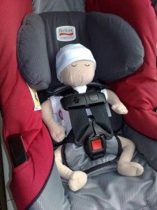 Britax Chaperone With Low Birth Weight Foam Insert Sprout S