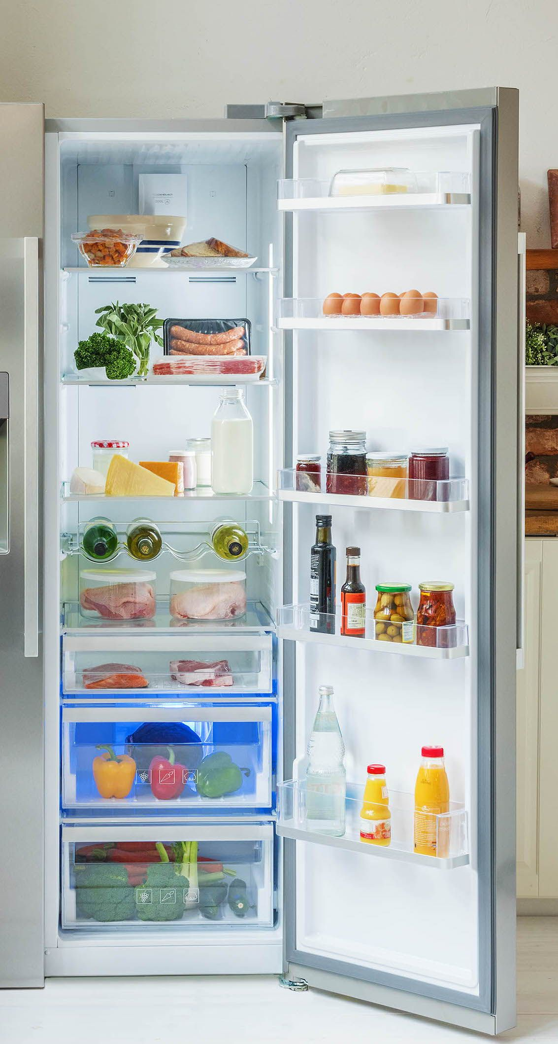 Unser Guide zum Kühlschrank richtig einräumen   Frühlingsgefühle ...