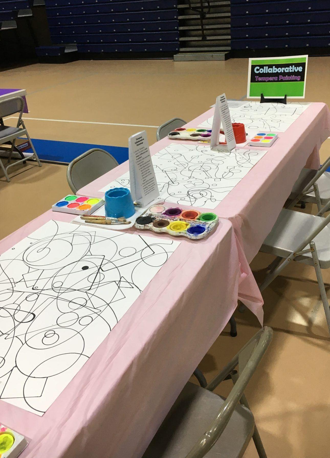 Art Festival and Family Art Night- How to run a Family Art Night