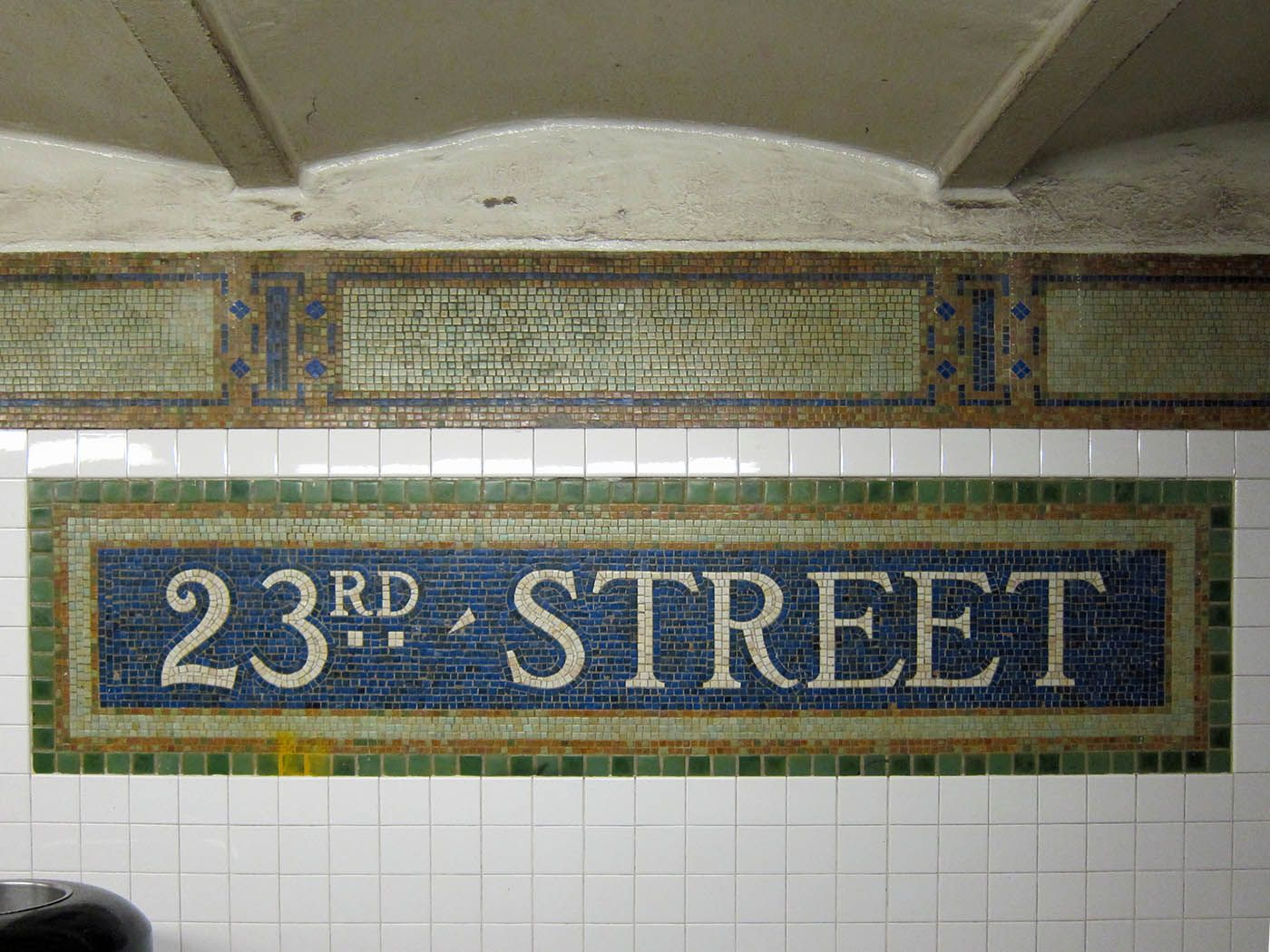 23rd street station typography pinterest subway tile patterns 23rd street station dailygadgetfo Choice Image