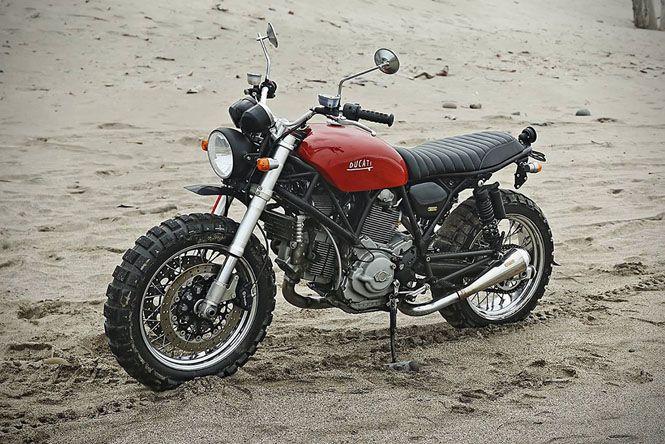 マイナー車であるドゥカティー Gt1000 をサーファー仕様のスクランブラーにカスタム Forride フォーライド Ducati Cafe Racer Cool Car Drawings Ducati