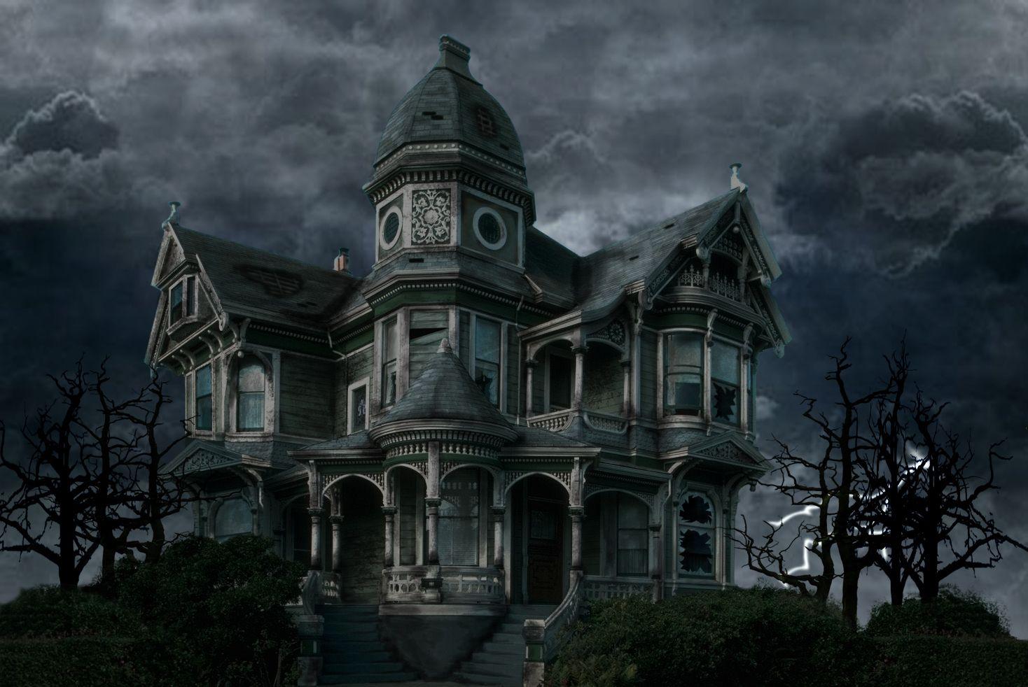 description of a scary house
