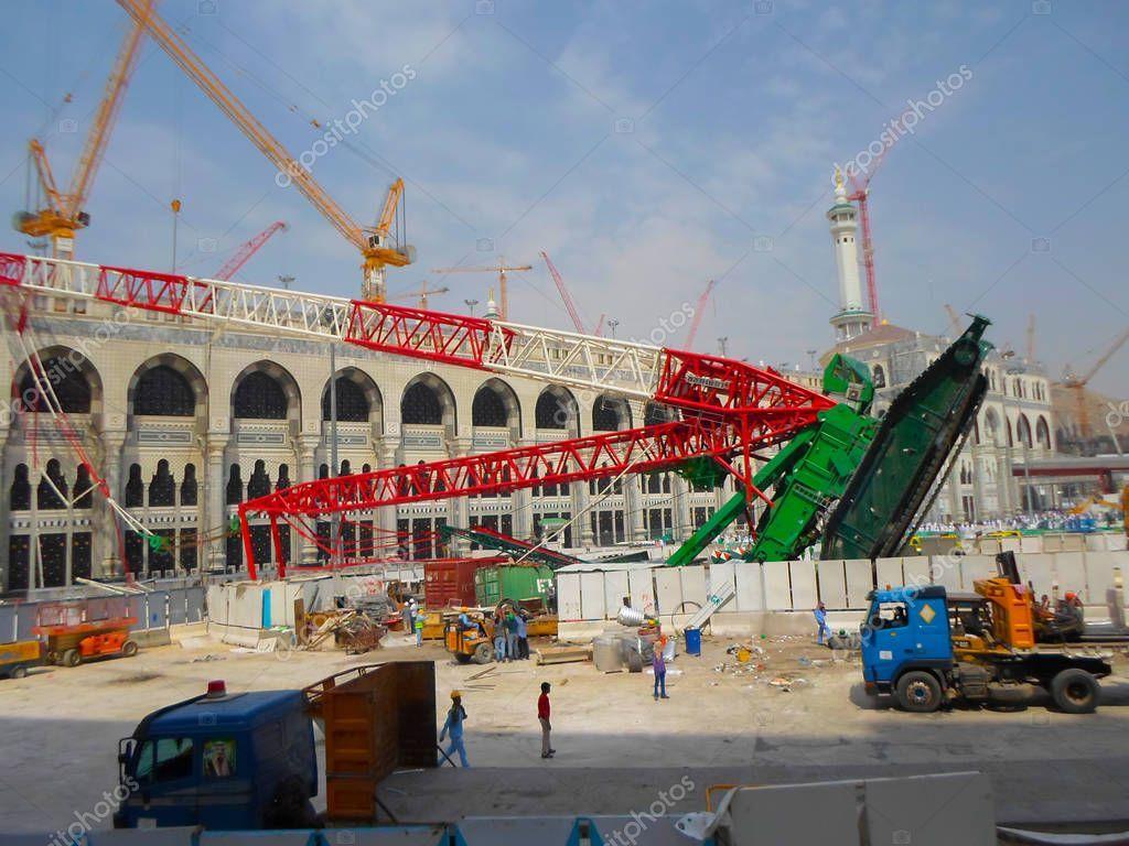 Mecca Saudi Arabia November 2017 Pilgrims Surrounds Area Giant Crane Stock Photo Aff November Pilgrims Mecca Saudi Ad Mecca Pilgrim Saudi Arabia