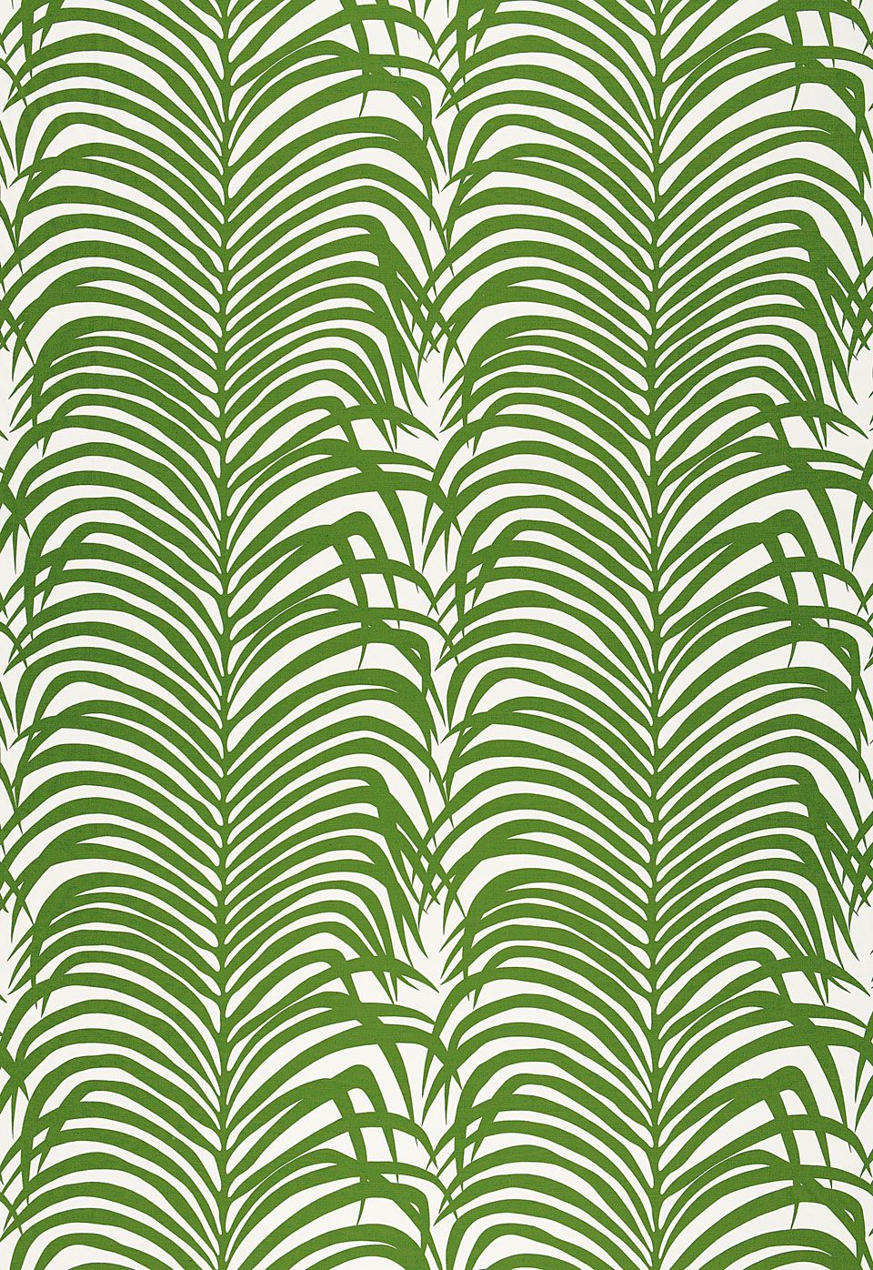 Friday\'s Favourites Green and White | Schumacher, Palm and Linens