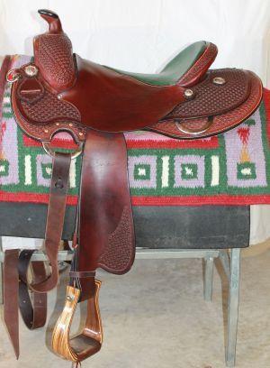 Mike Corcoran western dressage saddle | Western Leather