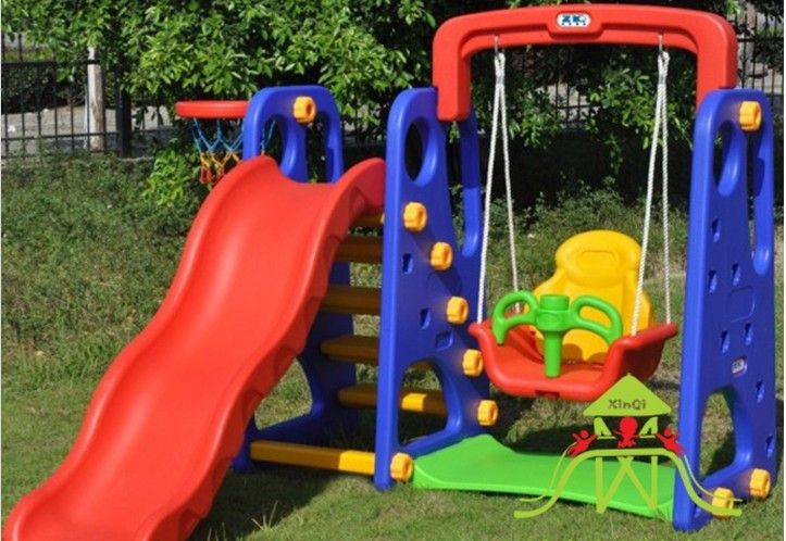 Attrayant Indoor Play Equipment Baby Swing Seat Kids Slides Outdoor Garden Playground  Equipment Children Kids Swing Slippery