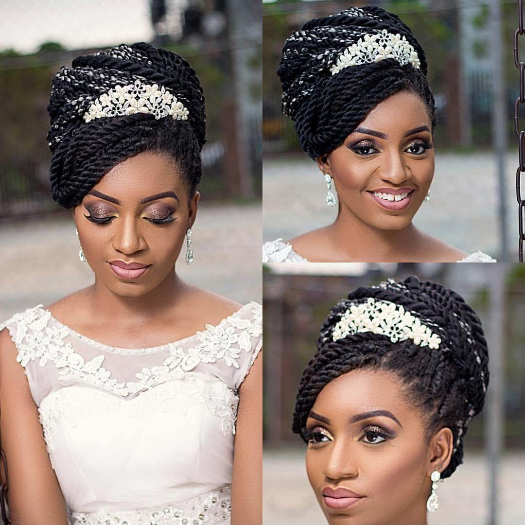 Hairssence 5 Natural Hair Wedding Natural Wedding Hairstyles Braided Hairstyles For Wedding
