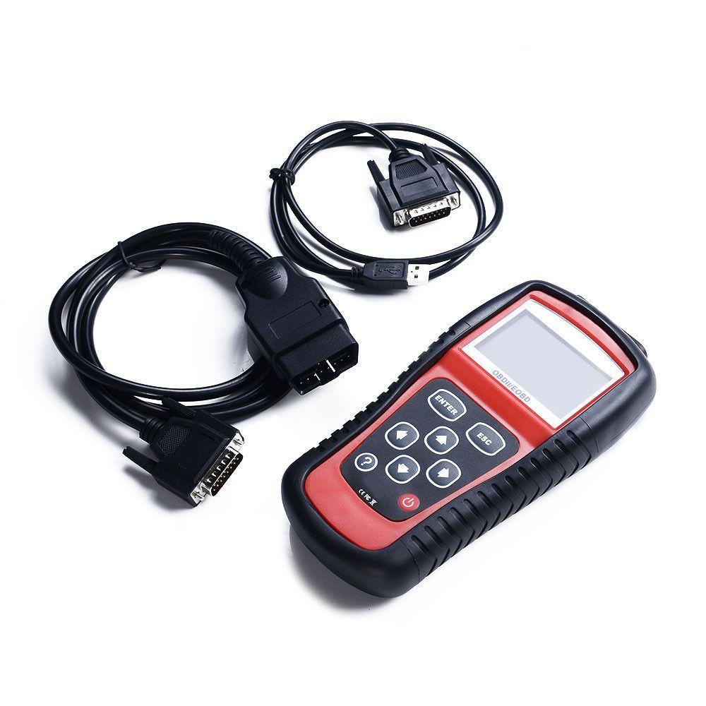 EOBD Live Date Code Reader OBD2 Check Engine Car Scanner
