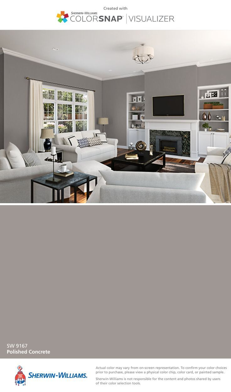 Image Result For Sherwin Williams Polished Concrete Paint Colors For Home Matching Paint Colors Room Paint Colors